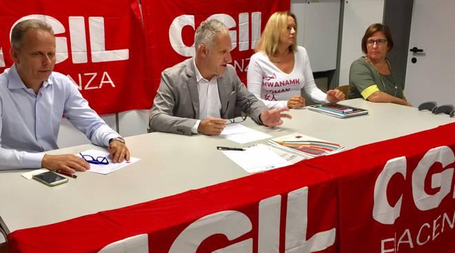 Cgil Piacenza la segreteria provinciale