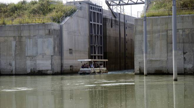 crociare fluviale interclub da Piacenza a Chioggia