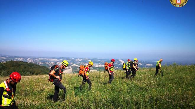 Esercitazione Soccorso Alpino Emilia Romagna