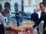 I salumi piacentini alla Cena dei Mille a Parma