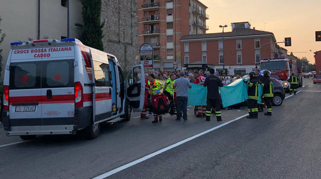 L'incidente a Pontenure