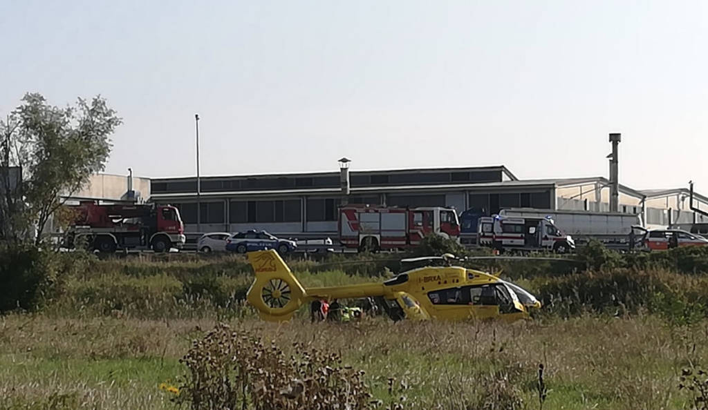 L'incidente lungo l'autostrada A21