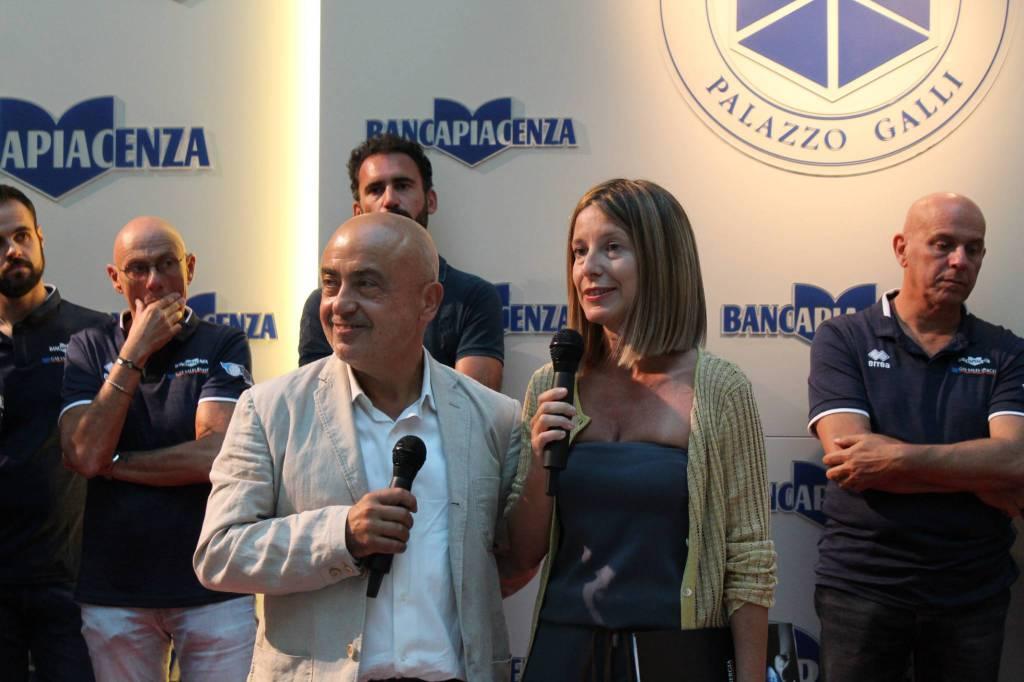 La presentazione della Gas Sales Piacenza volley