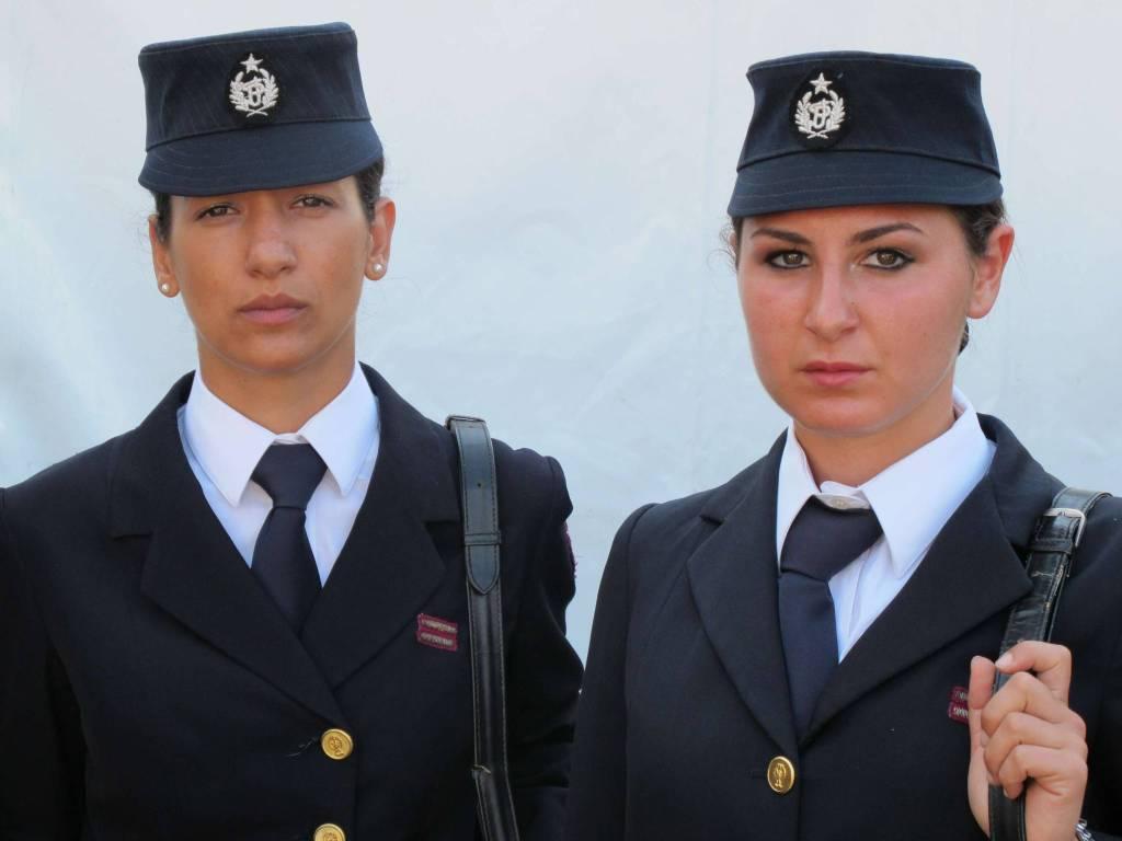 La uniformi storiche della polizia