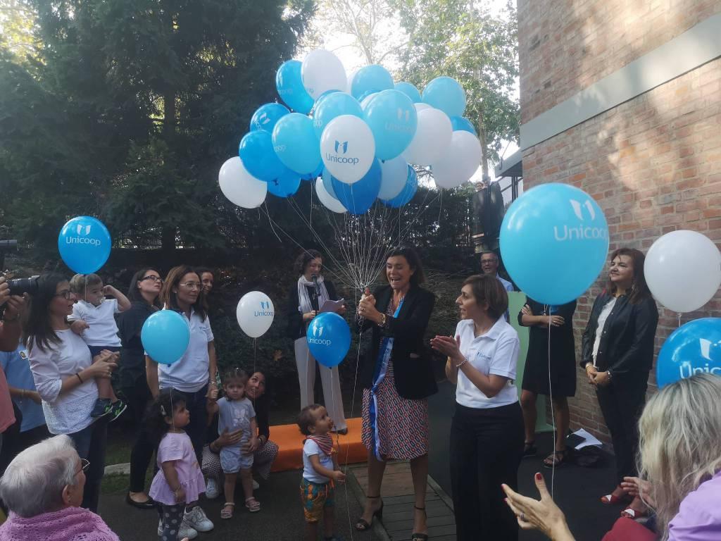 La vicepresidente Gualmini visita il centro Bambini-Anziani del Facsal