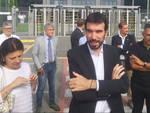 La visita di Maurizio Martina allo stabilimento Amazon di Castello