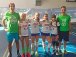 Le giovani pallavoliste della Volley Academy Piacenza