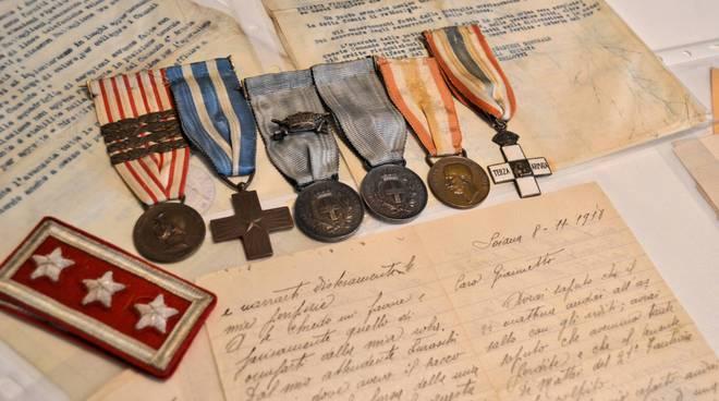 Lettere e cimeli Prima Guerra Mondiale