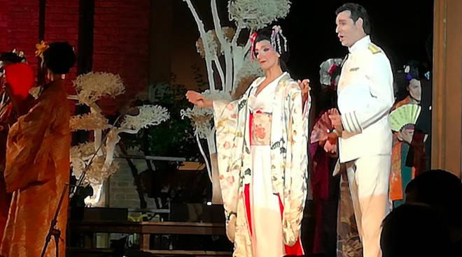 Madama Butterfly al Farnese