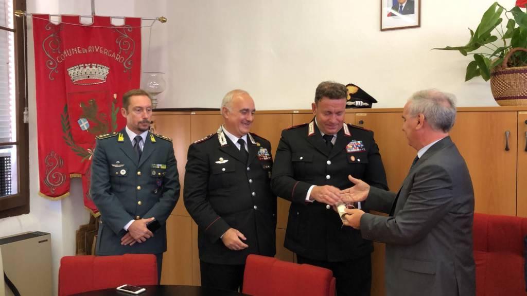Premiazione maresciallo Roberto Guasco