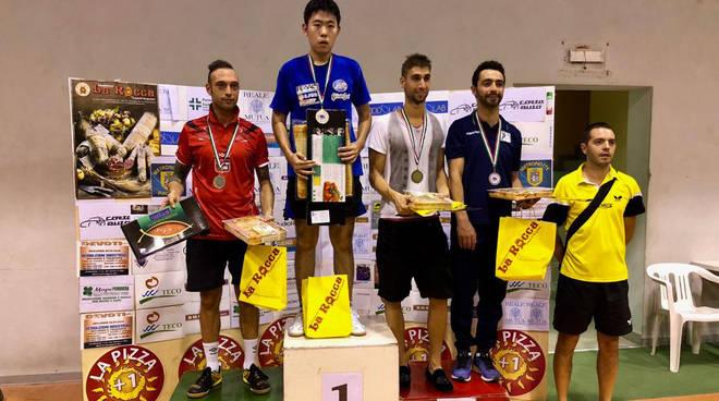 Premiazioni Trofeo La Rocca