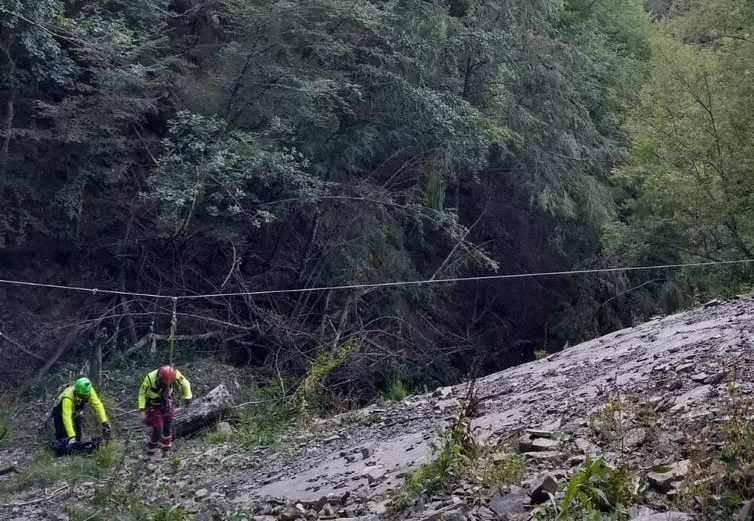 soccorso alpino in valdaveto