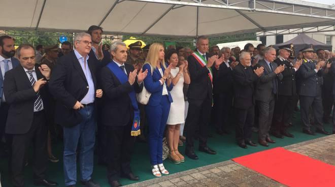 Via ai lavori della nuova caserma dei Carabinieri a Podenzano