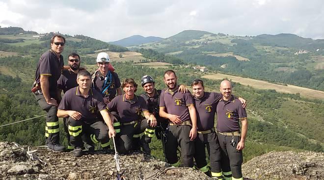 Vigili del fuoco alla Perduca