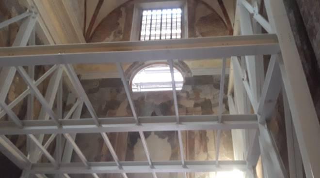 Visita al cantiere ex Chiesa del Carmine