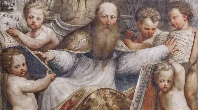 Affresco dedicato a Sant'Agostino