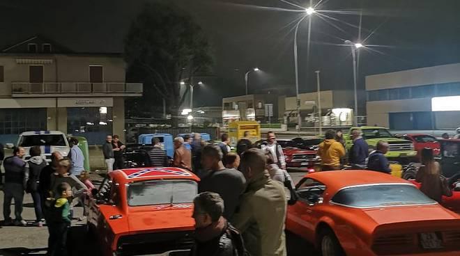 American Cars Piacenza, raduno notturno