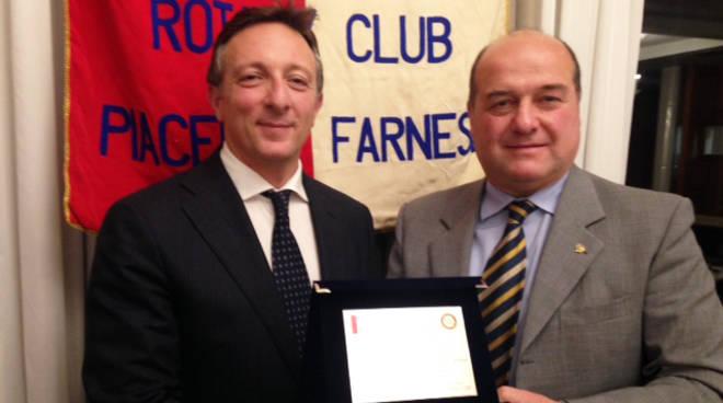 Andrea Paparo al Rotary Farnese