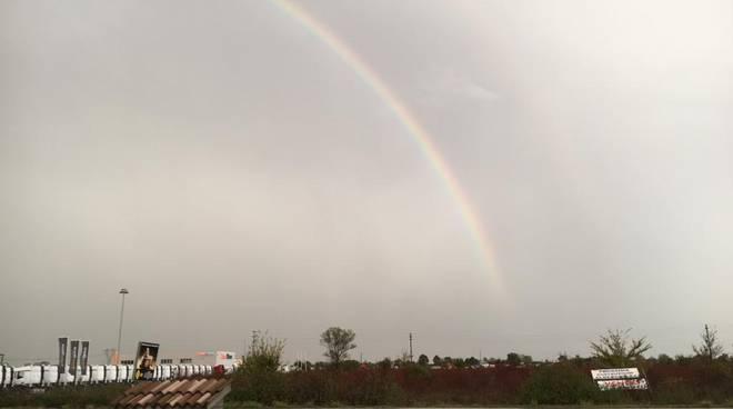 arcobaleno a Caorso