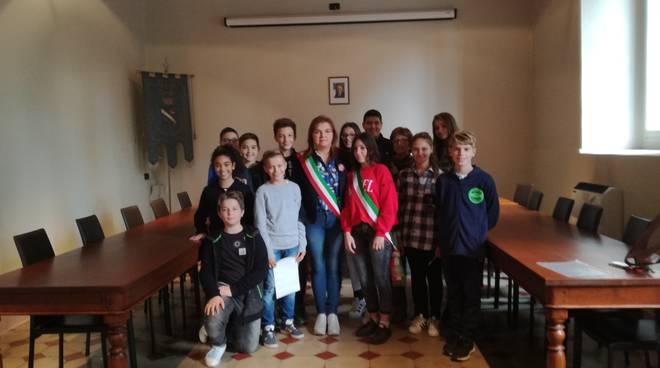 Consiglio comunale dei ragazzi a Gragnano