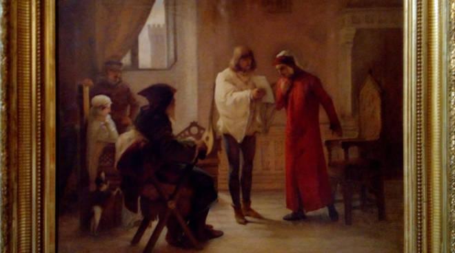 """""""Dante alla corte dei Malaspina"""" di Bernardino Pollinari"""
