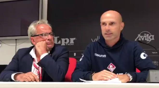 Franzini in conferenza stampa