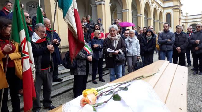 Funerali di Pierina Tavani