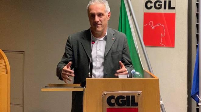Gianluca Zilocchi, segretario Cgil
