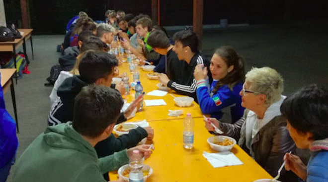 Gli studenti ospiti dei Lyons