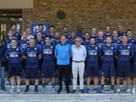 Il gruppo degli allenatori con Arnaldo Franzini