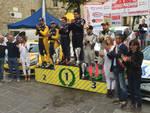 Il podio del Rally Castelli Piacentini