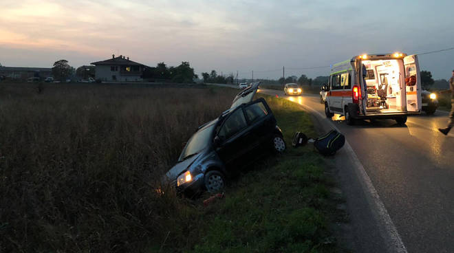 L'incidente a Caratta di Gossolengo