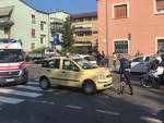 L'incidente in Viale Dante