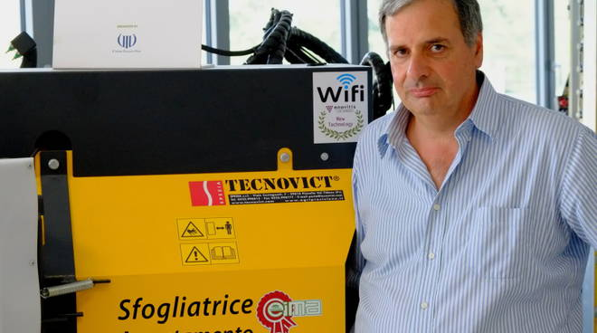 L'ingegnere Giancarlo Spezia