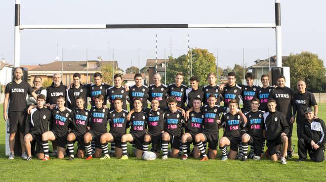 La squadra Under 18 dei Lyons