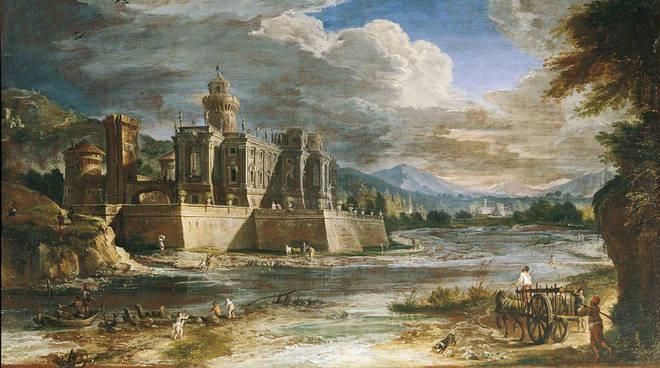 La veduta del Panini esposta in Sant'Agostino