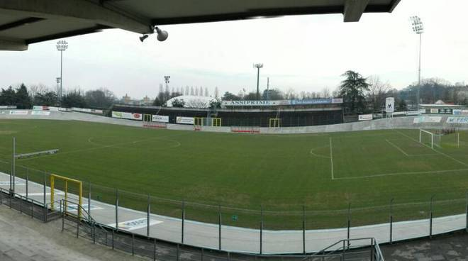 Lo stadio comunale di Fiorenzuola