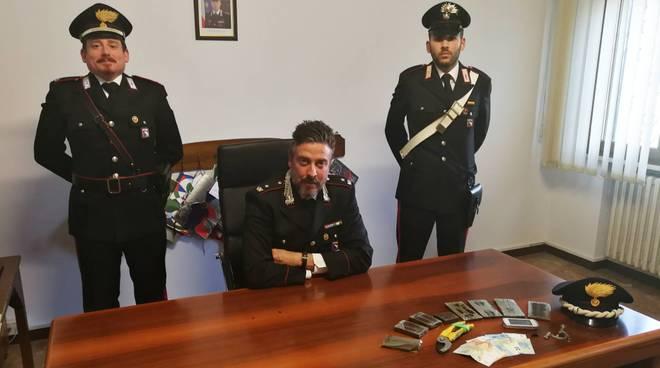 Lo stupefacente sequestrato dai carabinieri di Fiorenzuola