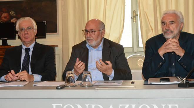 Nella foto, sinistra: Fabio Fornari, Gaetano Rizzuto, Giorgio Macellari