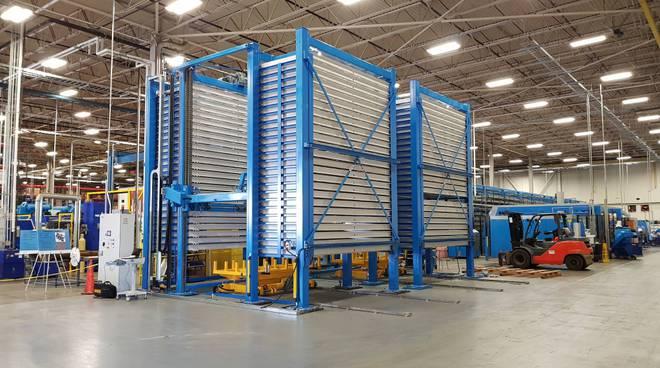 sideros magazzino automatico