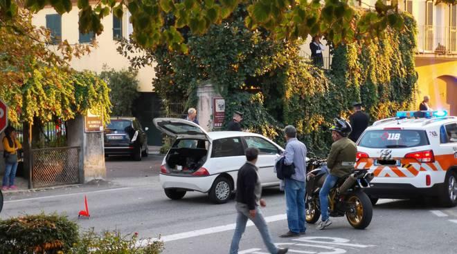 Travolto da un auto a Ziano. Interviene l eliambulanza foto 13b4e0016f2