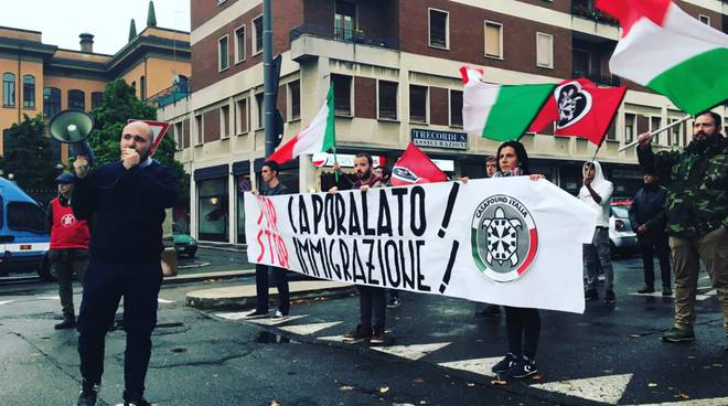 Sit in casapound