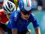 Sofia Collinelli in maglia azzurra