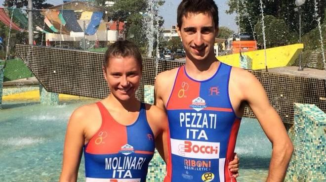 Tania Molinari e Michele Pezzati
