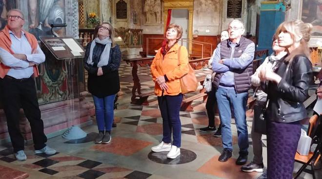 Visitatori alla Salita al Pordenone