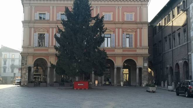 albero di natale 2018 piazza mercanti