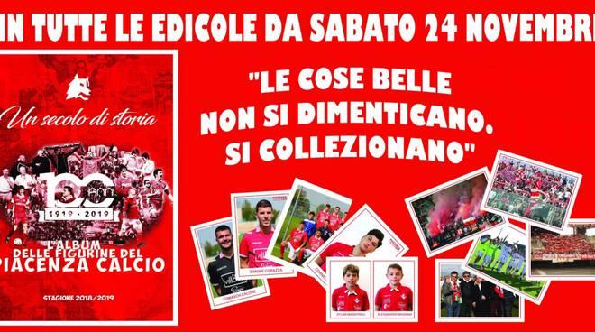 Album di figurine del Piacenza Calcio