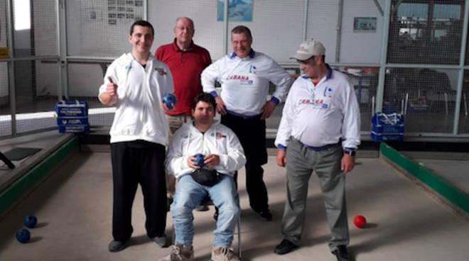 Bocce disabili, seconda prova