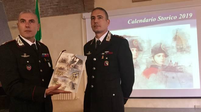 calendario carabinieri 2019