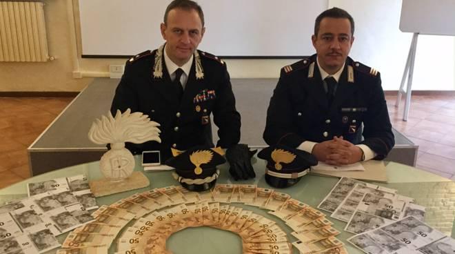 carabinieri Borgonovo soldi
